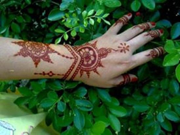 henna art meriss can